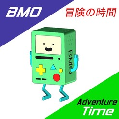 b.jpg Télécharger fichier STL BMO - L'heure de l'aventure • Objet pour imprimante 3D, OsvaldoFilho