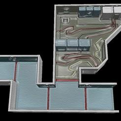 el-texture.jpg Download STL file Electrical - Among Us MAP • Design to 3D print, OsvaldoFilho