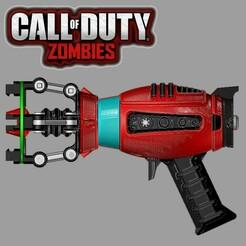 WG1,3.jpg Download STL file ZAP GUN (RED) - CALL OF DUTY • 3D print design, OsvaldoFilho