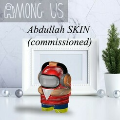 AU-abdullahskin.jpg Télécharger fichier STL ENTRE NOUS - ABDULLAH SKIN (commissionné) • Objet imprimable en 3D, OsvaldoFilho