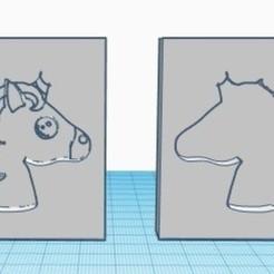 unicorn.jpg Download 3MF file unicorn bath bomb mold • 3D printer model, landjremovalsplymouth