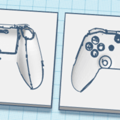 Untitled.png Download STL file xbox controller mold • 3D printable template, landjremovalsplymouth
