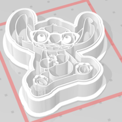CC.PNG Download STL file Cookie cutter Stitch • 3D printing template, Cataleiyia