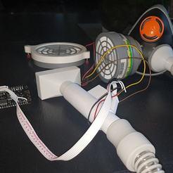 proto.jpg Télécharger fichier STL gratuit Respirateur expérimental à air comprimé : PAPR • Plan imprimable en 3D, freedom2000