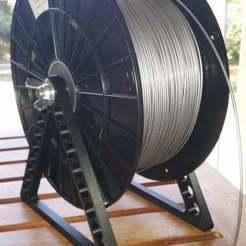 spool_holder2.jpg Télécharger fichier STL gratuit Porte-bobine de boîtier • Design pour imprimante 3D, freedom2000