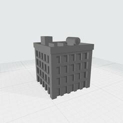 MW2.jpg Download free STL file Mechwarrior building 2 • 3D print object, Easy3Dterrain