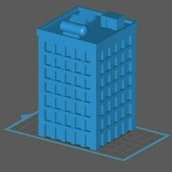 MW1.jpg Download free STL file Mechwarrior building 1 • Template to 3D print, Easy3Dterrain