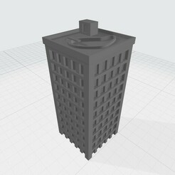 MW3.jpg Download free STL file 10-story Mechwarrior / Battletech Building • 3D printing design, Easy3Dterrain