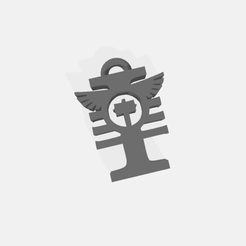 Warhammer keyring 2.png Télécharger fichier STL gratuit Porte-clés / Pendentif Daemonhunters Hereticus • Plan imprimable en 3D, Easy3Dterrain