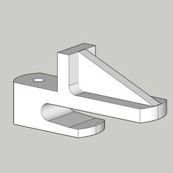 2020 - FERMO PER STENDIPANNI FOPPA PEDRETTI.jpg Télécharger fichier STL gratuit ARRÊT POUR LA GARDE-ROBE FOPPA PEDRETTI • Plan pour impression 3D, marinove