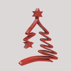 ALBERO DI NATALE v2.jpg Télécharger fichier STL L'arbre de Noël • Objet à imprimer en 3D, marinove