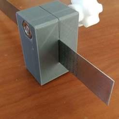 IMG_20201101_122457.jpg Télécharger fichier STL Strumento di tracciatura - righello • Design pour impression 3D, marinove