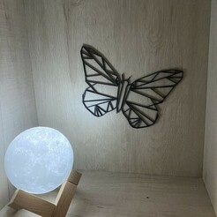 IMG_4221.JPG Download free STL file Butterfly - Butterfly • 3D printer template, emeahache