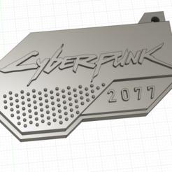 fillet.png Descargar archivo STL gratis Cyberpunk 2077 Llavero • Plan para la impresión en 3D, mackb