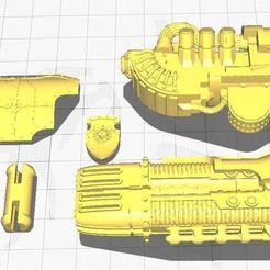 starfury.JPG Download free STL file Starfury Plasma Bigboi • 3D printing model, zammerak