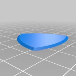 guitar_pick.png Télécharger fichier STL gratuit Plectre de guitare triangulaire • Modèle pour impression 3D, StariseWei