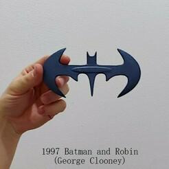 1997 Batarang.jpeg Télécharger fichier STL 1997 Batarang • Plan imprimable en 3D, Calgary_Prints