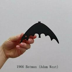 1966.jpeg Télécharger fichier STL 1966 Batarang • Design imprimable en 3D, Calgary_Prints