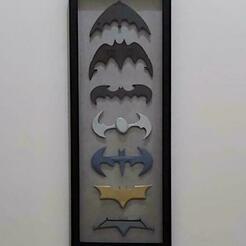 All.jpeg Télécharger fichier STL Batman V Superman Batarang • Design pour impression 3D, Calgary_Prints