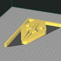 Ahsoka.JPG Télécharger fichier STL Support d'étagère, Ahsoka/Fulcrum • Modèle imprimable en 3D, lyvearch
