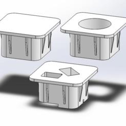 PTW-00-1-PT-0190__Plug_Interior_Hole_XYZPrinting_DaVinci_1.0A_.png Download free STL file Hole Plugs for Da Vinci Printers • 3D printing design, guido66611x