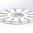 PTW-00-1-PT-0260_Reel_Flat_Network_Cable_Spool.png Télécharger fichier STL gratuit Bobine pour le câble de réseau plat • Design à imprimer en 3D, guido66611x