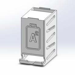 PTW-36-1-AD-0334_Top_Assembly_-_AA.png Télécharger fichier STL gratuit Distributeur de piles - 24x AA - Empilable • Modèle pour imprimante 3D, guido66611x