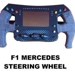 20200113_211323 (1).jpg Download STL file F1 Mercedes steering wheel SIM racing • 3D printer design, Alfa-Bitta