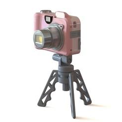 tripod_v2_camera.JPG Télécharger fichier STL gratuit Support de téléphone  • Plan pour impression 3D, GuillaumeRobot