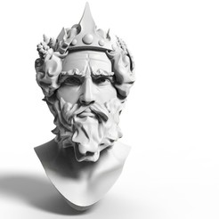 Neptun1.jpg Download STL file Neptune • 3D print object, Perun