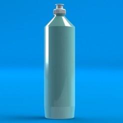Untitled2.JPG Télécharger fichier STL gratuit Bouteille de lavage de la vaisselle • Objet pour impression 3D, awieyo