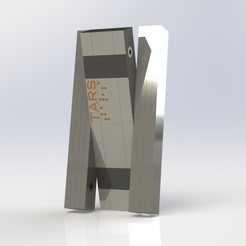 Untitled.JPG Download STL file Tars - Interstellar • 3D printing template, Strogonnoff