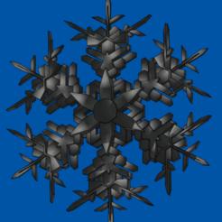 Screenshot 2020-11-09 17.59.41.png Télécharger fichier OBJ Flocon de neige 3D • Plan pour imprimante 3D, eyesofahunter