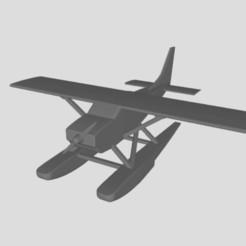 Avion Cessna.JPG Télécharger fichier STL Avion Cessna 150 • Modèle pour impression 3D, nathubc