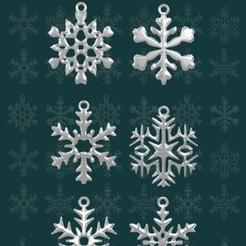 cops02.jpg Télécharger fichier STL gratuit Flocons de neige • Design pour imprimante 3D, SRT