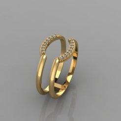 627.jpg Download 3DS file Semicircular Ring • 3D printable model, Neel6462