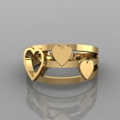 618.jpg Download 3DS file love Ring • 3D print template, Neel6462