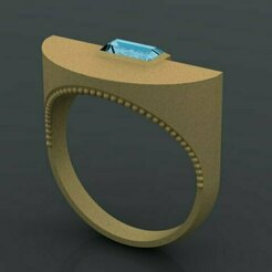 649.jpg Download 3DS file single Ring • Template to 3D print, Neel6462