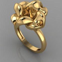 723.jpg Download 3DS file flower Ring • 3D printing design, Neel6462