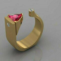 567.jpg Download 3DS file Ring • 3D print model, Neel6462