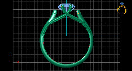 4.jpg Download 3DS file Solitaire ring • Model to 3D print, Neel6462