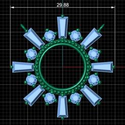 1.jpg Download OBJ file sun pendant • 3D print model, Neel6462