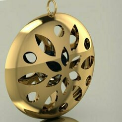 95.jpg Download 3DS file pearl in pendant • 3D printing object, Neel6462