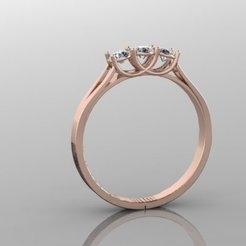 682.jpg Download 3DS file Engagement Ring • 3D printer template, Neel6462