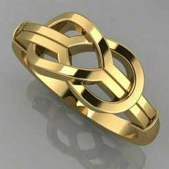 291.jpg Download 3DS file bowtie ring • Template to 3D print, Neel6462