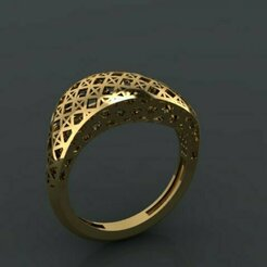 435.jpg Download 3DS file gold ring • 3D printer design, Neel6462