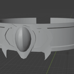 Collar Giro luego del giro.png Download STL file Collar of Athena from Saint seiya • 3D printing object, MrSoulster