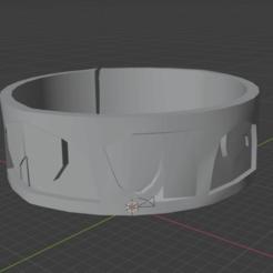 Brazalete Atena.png Download STL file Bracelet of Athena from Saint Seiya • 3D printing model, MrSoulster