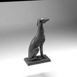 dog 1 .jpg Download STL file Dog  • Template to 3D print, dare990