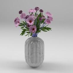 1.jpg Télécharger fichier STL fleur • Objet imprimable en 3D, dare990